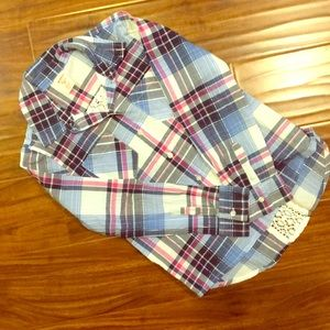 Other - Girls' Plaid Top